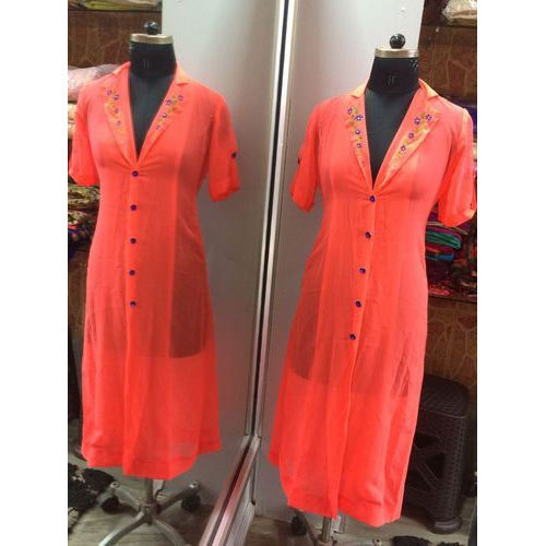 Ladies Designer Kurti Ladies White Fancy Kurti Manufacturer From Silchar