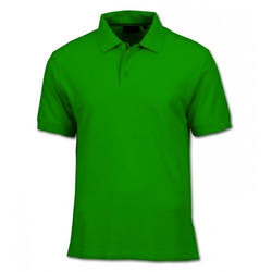 Cotton Plain Mens Formal T-Shirt