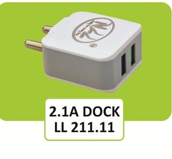 LL 211.11 Travel Faster Double USB Mobile Charger