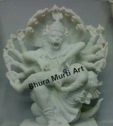 Narasimha Marble Statue