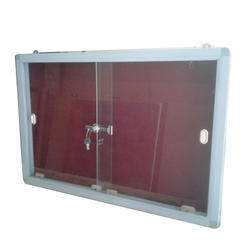 Glass Door Notice Board