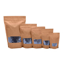 Brown Kraft Look Paper Pouches