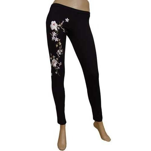 1a4f09469fd7e6 Black Cotton Ladies Designer Legging, Rs 130 /piece, Navrang ...