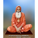 Multicolor Sri Appa Paithiyam Swamigal Salem Statue, For Interior And Exterior Decor