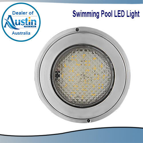 Swimming Pool Under Water Light - Stainless Steel LED Lights ...