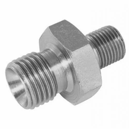 Stainless Steel SS Hydraulic Adapter, Size: 1/2,1 Inch