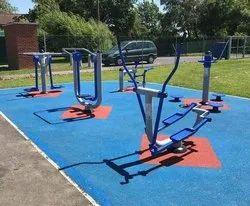Open outdoor gym