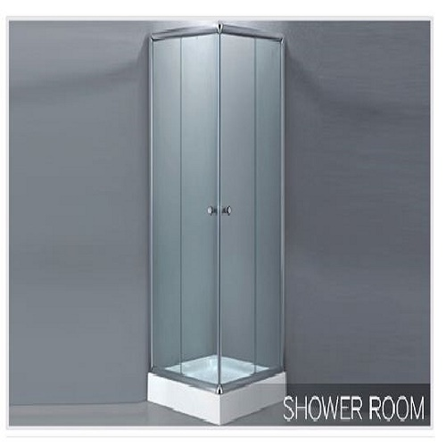 Comfortable Shower Room, Shape: Quadrant And Offset
