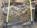 Blue Fire Marble