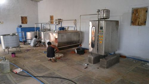 Mini Dairy Plant Capacity 500 Ltrs 1 Hour Rs 1270000
