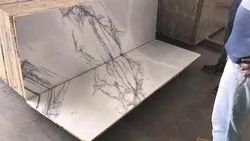 RMS Iilac White Marble, Application Area: Flooring and Kitchen Top