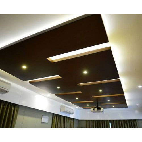 Wooden False Ceiling, Thickness: 5 to 20 mm, Rs 150 /square feet ...