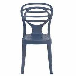 Oak Armless Chair
