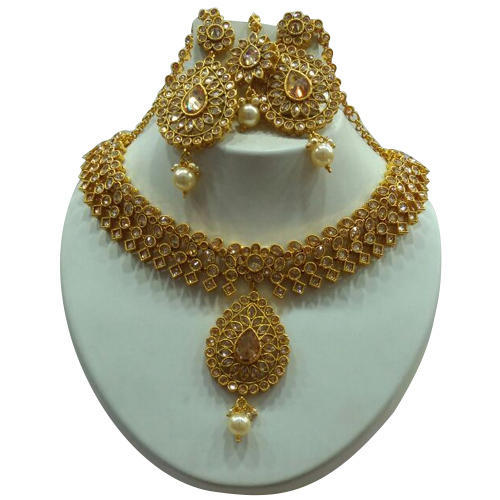 87d7824e3 Ladies Necklaces Set at Rs 2200 /set | Rajajipuram | Lucknow | ID ...