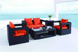 Mild Steel Outdoor Sofa Set, For Home