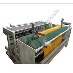 Electric Fabric Rolling Machine, Capacity: 50 mtr/min