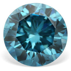 Gemone Diamonds Natural Blue Color Diamonds, Size: 0.01 carat to 0.12 carat