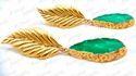 Kumar Jewels Chunky Funky Fashion Artificial Druzy Stone Girlish Prom Fashion Earrings