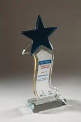 Crystal Star Award, Shape: Custom