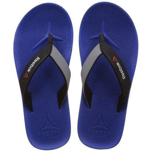 d1ae30a27914 Reebok Blue Mens Flip-Flops And House Slippers