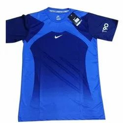 Polyester Half Sleeves Football Jersey