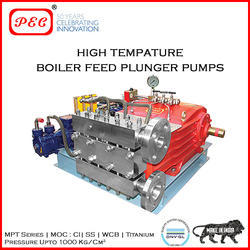 High Temperature Boiler Feed Plunger Pumps