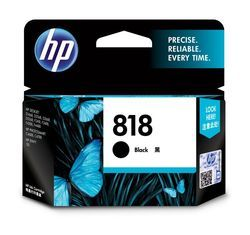 HP 818 Black Original Ink Cartridge (CC640ZZ)
