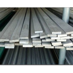 Polished Rectangular Stainless Steel Flat Bar For Construction, Size: >40 mm