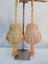 Designer Metal Potli Bag