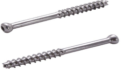 Cortical Cannulated Screws 4.5 mm Dia , Short Thread - Self Tapping
