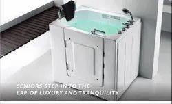 White HYGREE Elder Bathtub