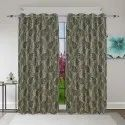 Floral Window Curtain