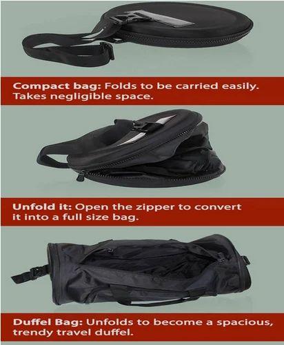 b87d6c7032 Folding Duffel Bag (Round Shape) (Cabin Size Compliant)(BG1459) at ...