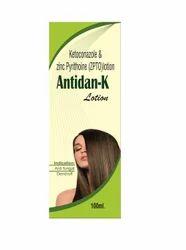Antidan-k Lotion ( hair Dandruff & Antifungal), Pack Size: 100 Ml, for SHAMPOO