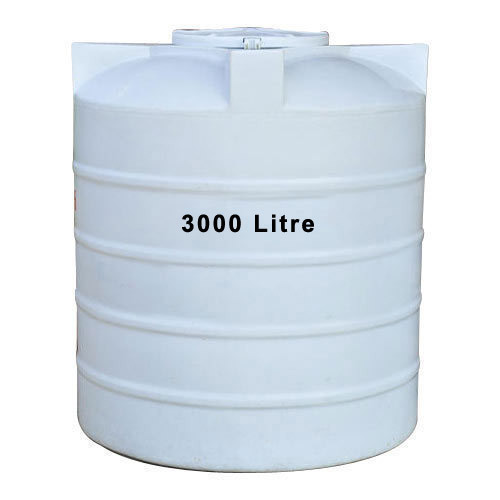 Ldpe White 3000 Liter Plastic Water Tank Rs 10500 Piece