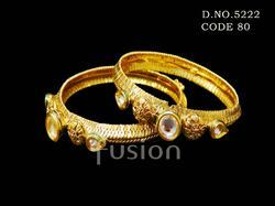 South Indian Style Indian Wedding Kundan Bangles