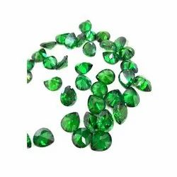 Green Cubic Zirconia Gemstone