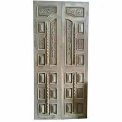 Krishna Overseas Wood Wooden Decorative Door