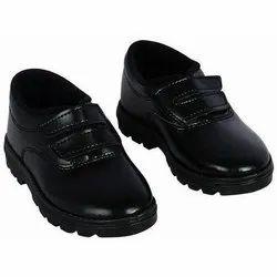 Formal Unisex BATA Velcro School Shoes