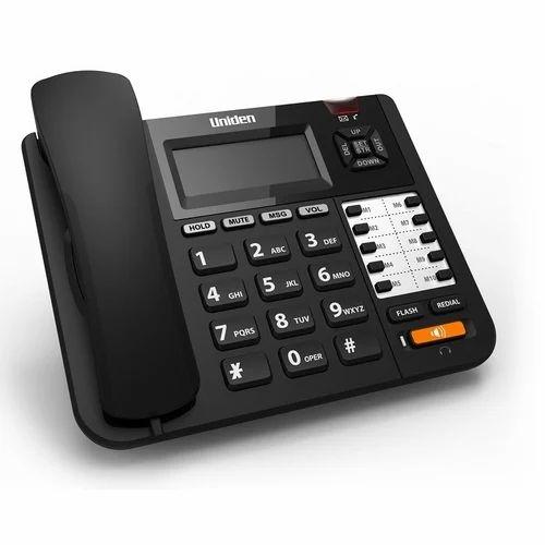 Plastic Uniden 8502 Two Line Landline Phone, AT8502