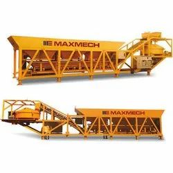 Skid Mounted Concrete Batching Plant