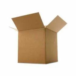 Brown Square Kraft Paper Folding Cartons