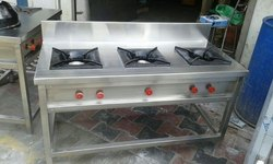 Stainless Steel Commercial Gas Stove