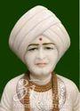 White Marble Jalaram Bappa Statue