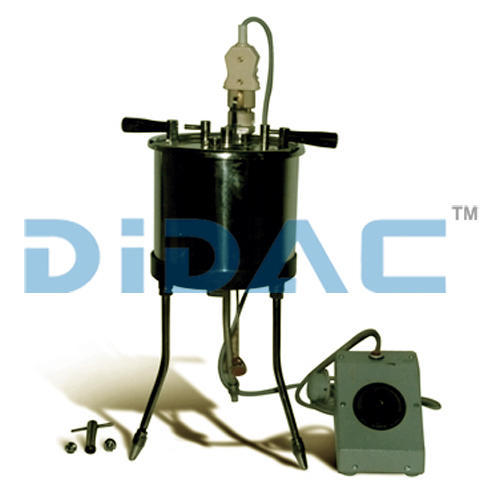 DIDAC Single Redwood Viscometer