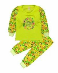 Baby Girls Floral Printed Top With Jocker Pant