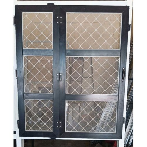 Gril With Aluminum Mesh Doors