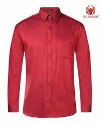 Plain Regular Fit Mens Cotton Shirts