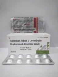 Montelukast Sodium & Levocetirizine Dihydrochloride Dispersible Tablet