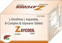 L-Ornithine , L-Aspartate , B-Complex & Silymarin Tablets